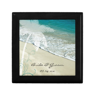 Tropical Beach Wedding Gift Box