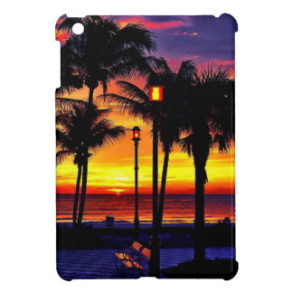 TROPICAL BEACH WISH YOU WERE HERE CUSTOM POSTCARD CASE FOR THE iPad MINI