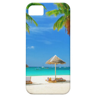 TROPICAL BEACH WISH YOU WERE HERE CUSTOM POSTCARD CASE FOR THE iPhone 5