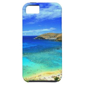 TROPICAL BEACH WISH YOU WERE HERE CUSTOM POSTCARD iPhone 5 CASE