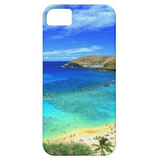 TROPICAL BEACH WISH YOU WERE HERE CUSTOM POSTCARD iPhone 5 COVER
