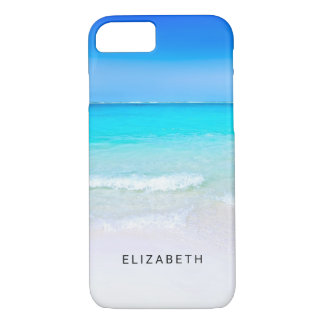 Tropical Beach with a Turquoise Sea Custom iPhone 8/7 Case