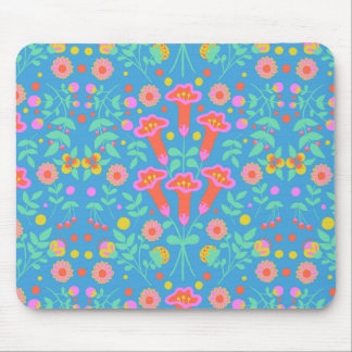Tropical Bells Mouse Pad