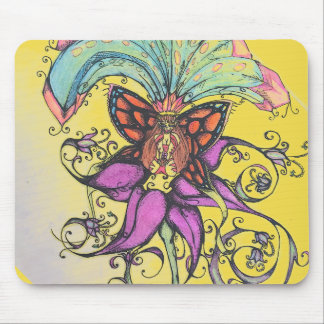 Tropical Bikini Clad Fairy Sunshine Mousepad