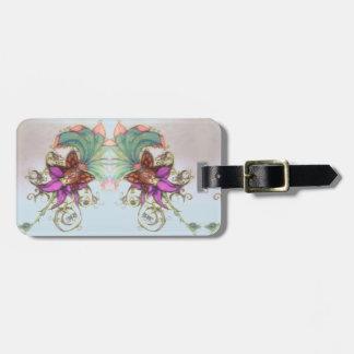 Tropical Bikini Fairy Graphics Luggage Tag