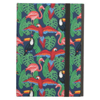 Tropical Birds In Bright Colors iPad Air Cases