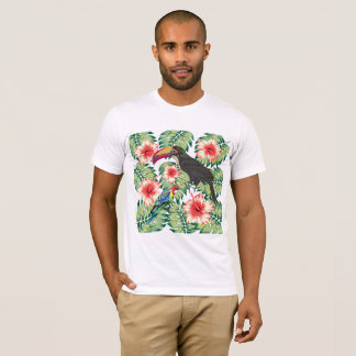 Tropical Birds of Paradise Design Series 1 T-Shirt