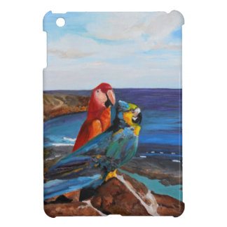Tropical Birds Overlooking the Bay Cover For The iPad Mini