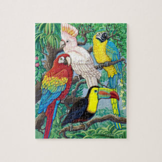 Tropical Birds puzzle