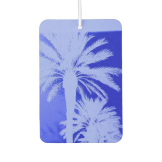 TROPICAL BLUE CAR AIR FRESHENER