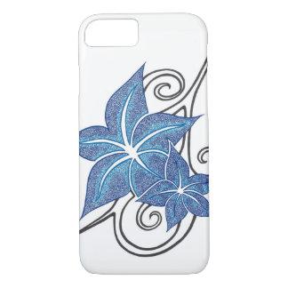 Tropical Blue Flower iPhone 8/7 Case