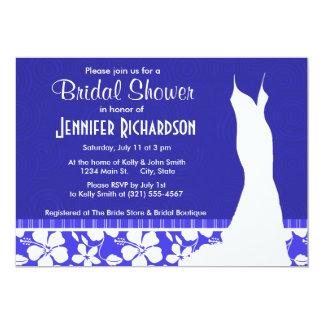 Tropical Blue Hibiscus; Cute Custom Announcements