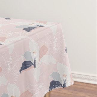 Tropical Blush Floral Tablecloth