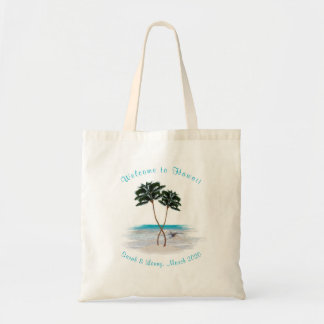 Tropical Bridesmaid Personalized Gift Bag