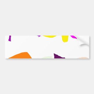 Tropical Bumper Sticker