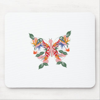 Tropical Butterfly Mouse Pads