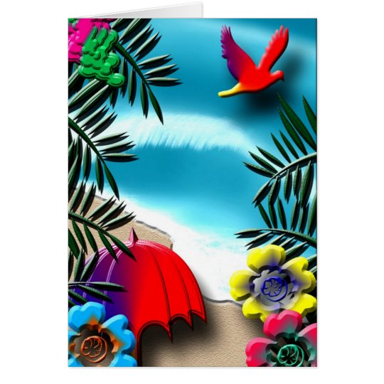 Tropical Card