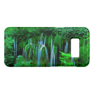 Tropical Cascading Waterfall In The Rainforest Case-Mate Samsung Galaxy S8 Case