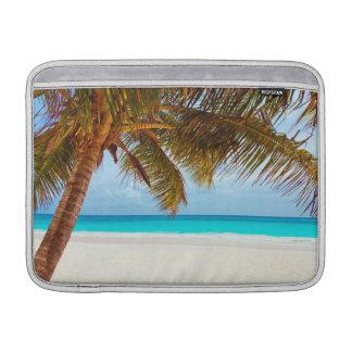 Tropical Chilling Beach Scene MacBook Air Sleeves