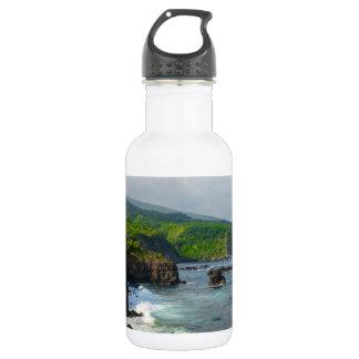 Tropical Cliffs in Maui Hawaii 532 Ml Water Bottle