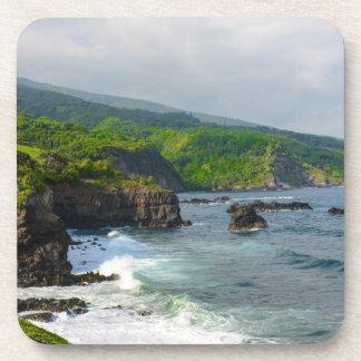 Tropical Cliffs in Maui Hawaii Coaster