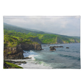 Tropical Cliffs in Maui Hawaii Placemat