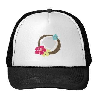 Tropical Coconut Trucker Hat