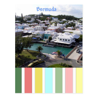 Tropical Colours of Bermuda Postcard