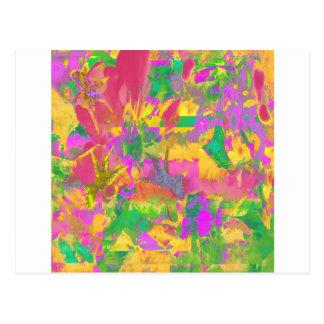 Tropical Colours Postcard