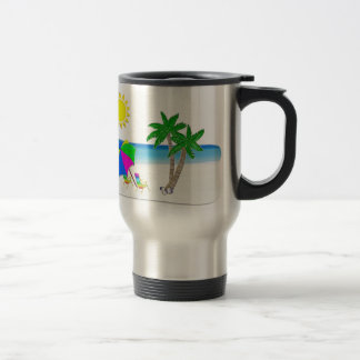 Tropical Cups Beach Themed Coffee Mugs Spill Proof
