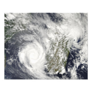 Tropical Cyclones Eric and Fanele 2 Photograph
