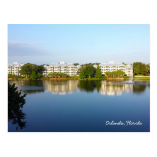 Tropical Cypress Harbour Resort - Orlando Florida Postcard