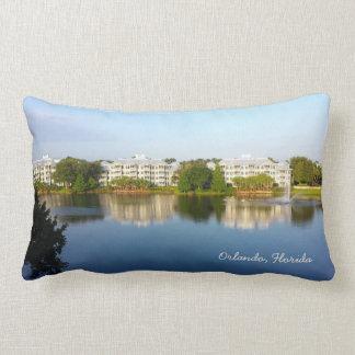 Tropical Cypress Harbour Resort - Orlando Florida Throw Cushions
