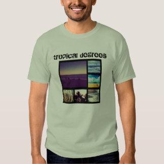 Tropical Degrees Tee Shirts