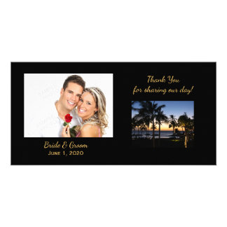 Tropical Destination Thank You Photo Cards