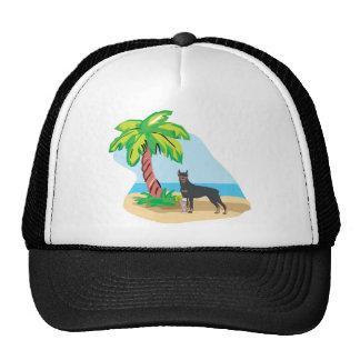 Tropical Doberman Hat