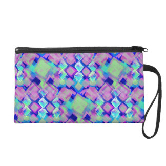 Tropical dream in pink wristlet