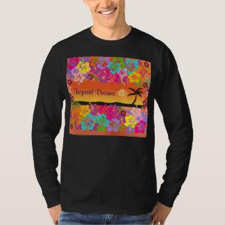 tropical dreams mens shirt