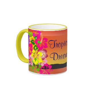 tropical dreams mugs