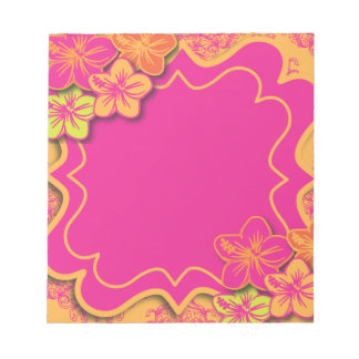 Tropical Dreams Notepad