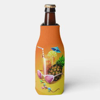Tropical Drink custom name bottle cooler