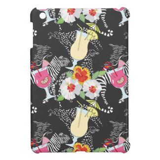 Tropical Drinks With Animals Cover For The iPad Mini