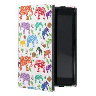 Tropical Elephants Covers For iPad Mini