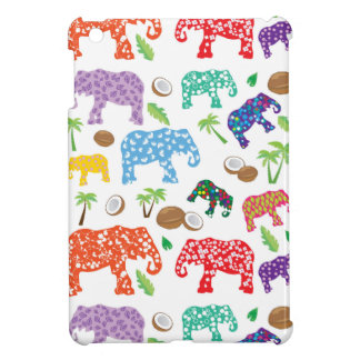Tropical Elephants iPad Mini Cover