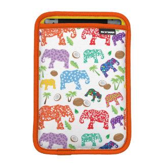 Tropical Elephants iPad Mini Sleeve