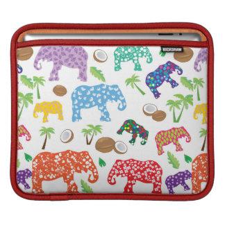 Tropical Elephants iPad Sleeve