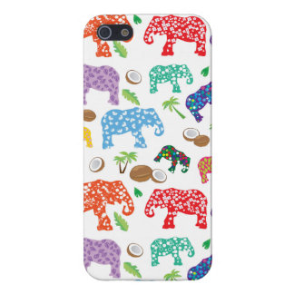 Tropical Elephants iPhone 5 Cover