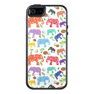 Tropical Elephants OtterBox iPhone 5/5s/SE Case