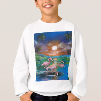 Tropical Famingos Sweatshirt