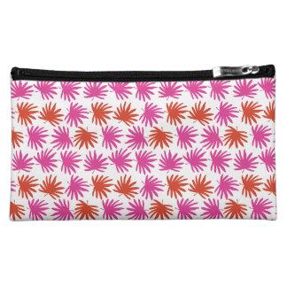 Tropical Fan Cosmetics Bag